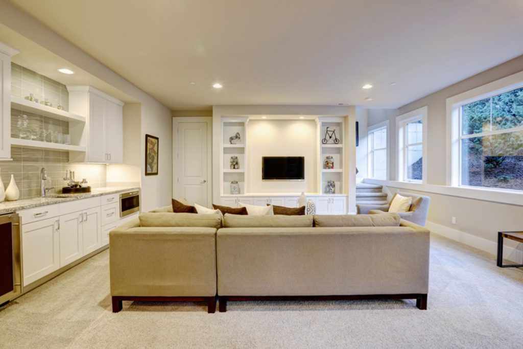 Use These Clever Spots To Increase Storage Space In Your Basement