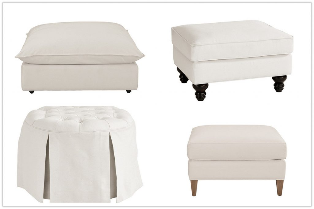 8 Stylish and Elegant Ottomans & Chairs That Offer Luxurious Comfort
